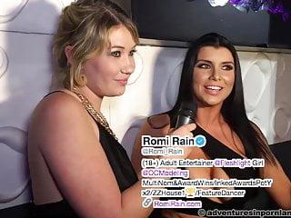 Group Sex Brunette video: XRCO 2017 - Romi Rain interview (repost)