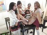 Schoolgirls at cam show 3
