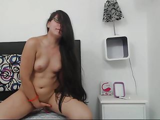 Brunettes Tits Webcams video: Sexy Colombian Hairplay and Striptease, Long Hair, Hair