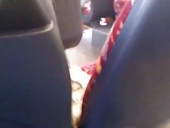 Szarpanie się w autobusie 2