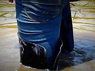 Sexy muddy long boots!!!