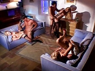Group Sex Stockings Facial video: classy Orgy