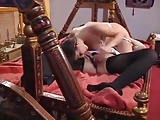 Fingering Kissing Maid video: Sexy Maid and the Lingerie Babe