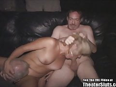 Blond anal milf porno theater gangbang fick fest