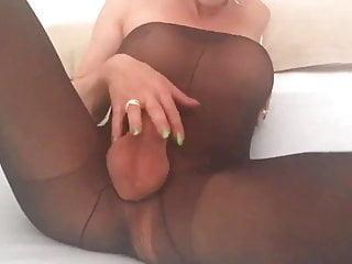Bbw ts kara lynn stokes tiny cock