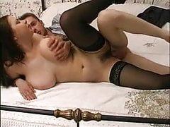 Vintage - Chubby Whore Fuck na posteli