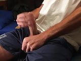 Horny Surfer Wanks in shorts