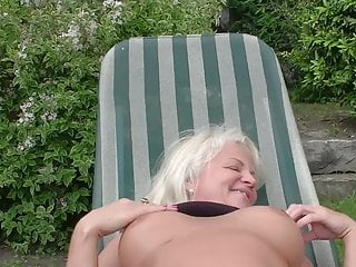 Blowjob Granny Cum In Mouth video: Grandma claims: Fuck my ass!