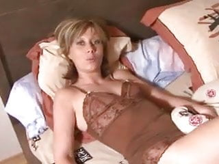 French Blonde Small Tits video: Amateur French wife gets fucked in the ass