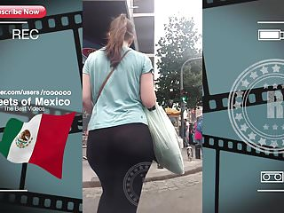 Arab Voyeur Big Ass video: NICE TEEN BOOTY WALK IN STREET (VPL-Red Pants) 2018