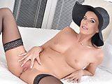 Glamorous mature lady Celine Noiret
