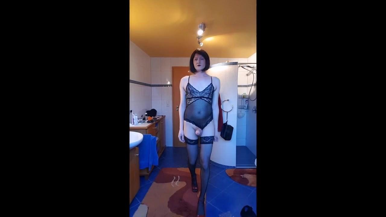 Порно трансы кончают без рук смотреть