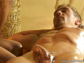 Asian Massage Milf video: Sensual Touch For Her Body