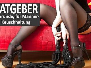 Bdsm Femdom Hd Videos video: BDSM-Adviser: Every men need a chastity belt