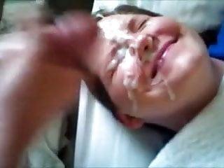 Blowjob Facial Cumshot video: Generous Facial