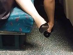 Necken im Zug