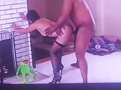 Real Cuckold Video: Kermit And Hubby Watch Wife Cuck