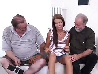 Threesome Old Threesome Hd Videos video: Old young threesome FMM