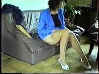Смотреть порно в колготках на высоких каблуках