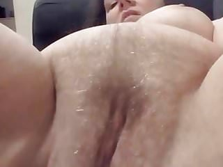 Big Tits Pussy Wet video: Hairy wet pussy
