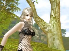 Aion 3D-Skins und nackter Patch