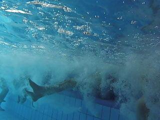Hidden Camera Hd Videos video: underwater-sauna pool-02122018-14