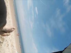 nagie kobiety na plaży