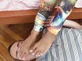 Long Toes Foot Worship