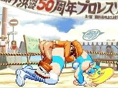Bao VS Regenbogen Mika Hentai Kampf
