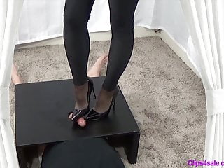 Amateur Shemale Bdsm Shemale Clips4sale video: Cum Under Mommys Heel