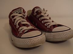 My Sister's Shoes: Converse marrone rossiccio I 4K