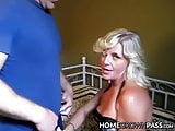 Alluring gal swallows hard dick and takes it from behind