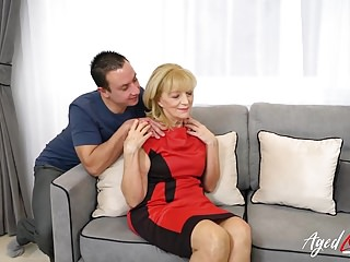 Blowjobs Matures video: AgedLovE Blonde Mature Fucked Hard By Youngster
