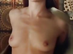 Nathalie Dormer topless, farbkorrigiert