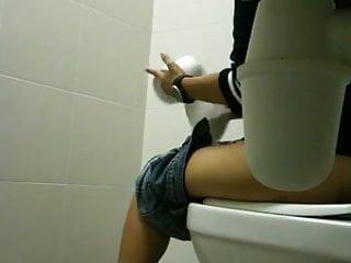 Teen Pissing Hidden Camera video: school toilet voyeur 1