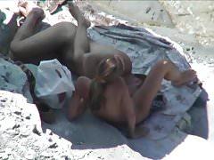 Starsza zabawa na plaży
