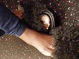 She watching me watch her feet 2