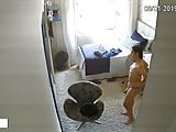 naked student in the room