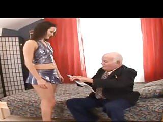 Oldyoung video: Horny Grandpa Mirek