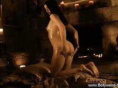 Verführerisch stripteasing und Technik