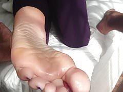 Trabajo del dedo del pie