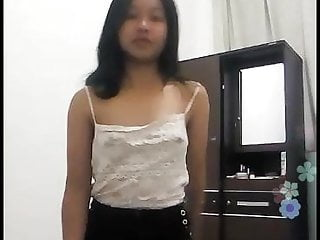 Asian Lingerie Small Tits video: gogo live abg indo teasing