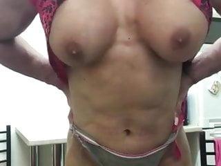 Beautyful muscular boobs