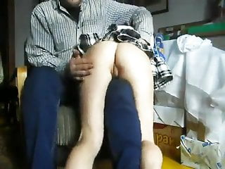 Spanking Teacher video: girl otk