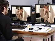Mark Heffron - nude exercise webcam hack