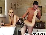 I think its hot that you have a footjob fetish JOI