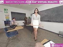 VRBangers.com-Sexy Teacher Romi Rain Getting Rammed