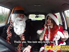Fake Driving School Sexy horny squirting festive anal