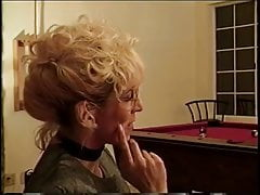 Horny Blonde takes Mr. 18 Inches in her ass