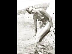 Desnudos vintage de los años 40 y 50.